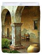 Mission San Juan Capistrano, California Duvet Cover
