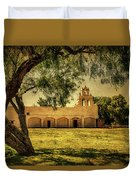 Mission San Juan Church Duvet Cover