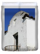 Mission Style Architecture Duvet Cover