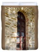 Mission Window Duvet Cover