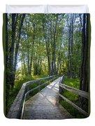 Mississippi Riverwalk Trail - Carleton Place, Ontario Duvet Cover
