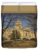Missouri Capital Building Jefferson City Dsc00653 Duvet Cover