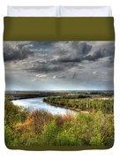 Missouri River Duvet Cover