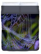 Mist In The Web  Duvet Cover