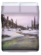 Mistaya Canyon Duvet Cover
