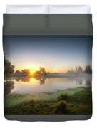 Mists Of The Morning Duvet Cover