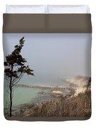 Misty Beach Duvet Cover