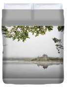 Misty Castle Duvet Cover
