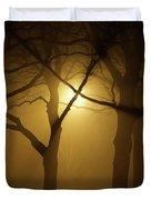 Misty Cross Duvet Cover