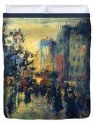 Misty Effect Paris Duvet Cover