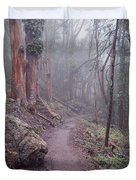 Cloud Forest- Mount Sutro Duvet Cover