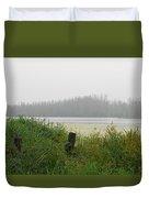 Misty Lake Duvet Cover