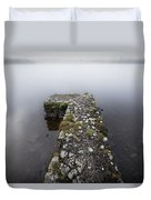 Misty Lough Erne Duvet Cover