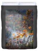 Misty Maple Duvet Cover