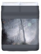 Misty Morning - Ojai California Duvet Cover