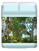 Misty Mountain Top Duvet Cover