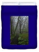 Misty Path Duvet Cover