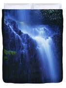 Misty Waterfall Duvet Cover