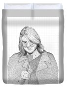 Mitch Hedberg In His Own Jokes Duvet Cover
