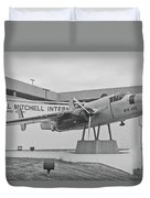 Mitchell International Airport Duvet Cover