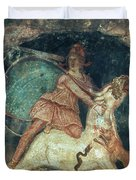 Mithras Killing The Bull - To License For Professional Use Visit Granger.com Duvet Cover