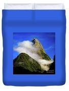 Mitre Peak Duvet Cover