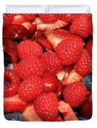 Mixed Berries Duvet Cover