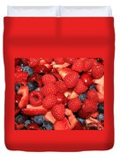 Mixed Berries Duvet Cover