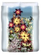 Mixed Floral Duvet Cover