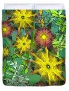 Mixed Flowers Duvet Cover