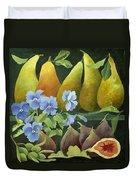 Mixed Fruit Duvet Cover