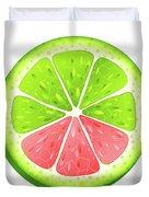 Mixed Lemon Duvet Cover