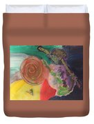 Mixed Media Abstract 15-c11  Duvet Cover
