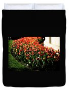 Mixed Tulips Duvet Cover