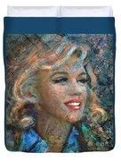 Mm Ice Blue Duvet Cover