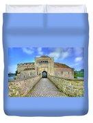 Moat House Leeds Castle Duvet Cover