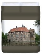 Moated Castle Vischering Duvet Cover