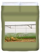 Mobile Irrigation Robot  Duvet Cover