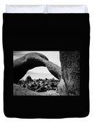 Mobius Arch View Alabama Hills Duvet Cover