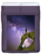 Mobius Milky Way Duvet Cover
