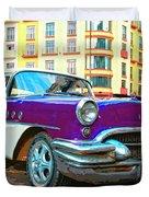 Moby Grape Duvet Cover