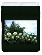Mock Orange Blossoms Duvet Cover