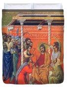 Mockery Of Christ 1311 Duvet Cover