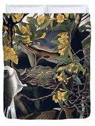 Mocking Birds And Rattlesnake Duvet Cover