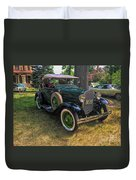 1928 Model A Ford  Duvet Cover