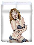Model - Michelle Duvet Cover