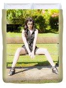 Model Duvet Cover