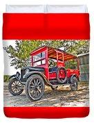 Model T Delivery Duvet Cover