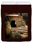 Model Train Tunnel 2 Duvet Cover