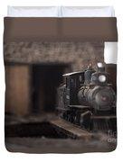 Model Train Duvet Cover